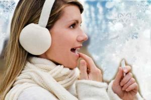 Защищенные губы в течении зимы