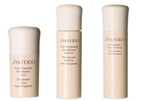 Дезодорант Deodorant Natural Spray/Stick/Roll-On от Shiseido.