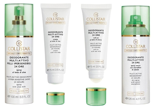 Мултиактивный спрей-дезодорант для гиперчувствительной кожи, 24 часа от Collistar