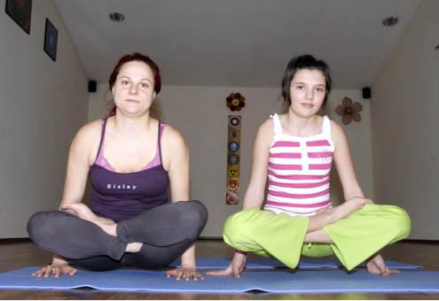 Йога упражнение номер 2 – Лотос в воздухе