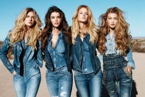 Denim осень-зима 2015-16: актуальные джинсы, юбки, куртки