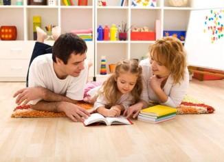 Семейное воспитание детей
