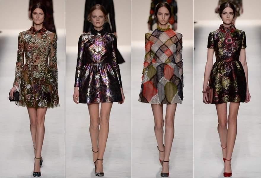 Актуальные платья осень-зима 2015-16: фасоны, принты, детали