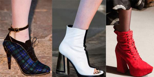 Трендовые модели обуви осень-зима