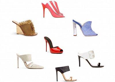 Модный тренд в обуви: мюли