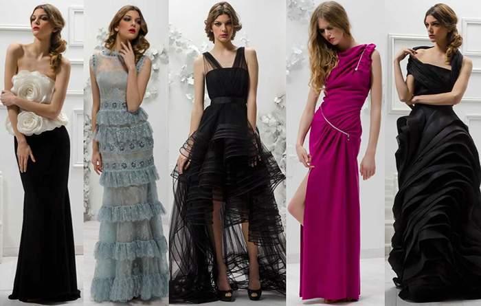 Трендовые вечерние платья 2015-16