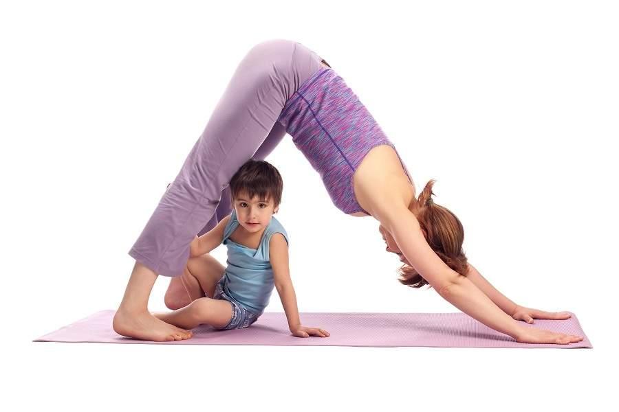 Йога для мам и детей