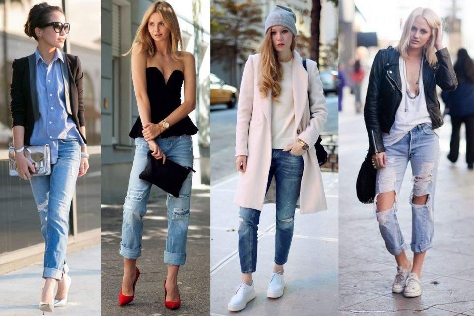 Модно и удобно: с чем носить трендовые джинсы и брюки осень 2015