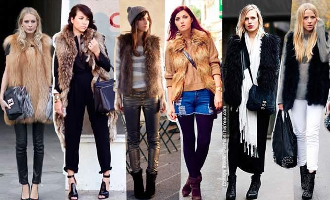Как носить жилет зимой и осенью?