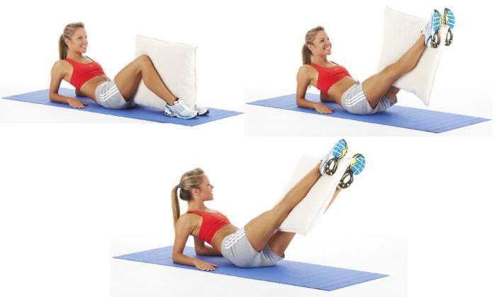 Упражнения для быстрого уменьшения талии и подтяжки живота