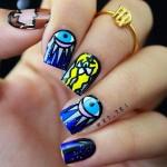 Интересные идеи для маникюра ни длинные ногти