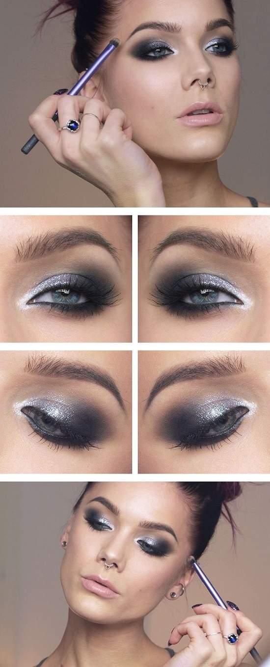 Идеи ослепительного макияжа для голубых глаз