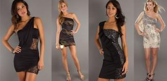 Хит сезона - платья с открытыми плечами