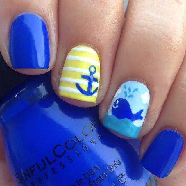 Идеи для летнего пляжного маникюра