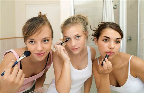 Подростки и макияж