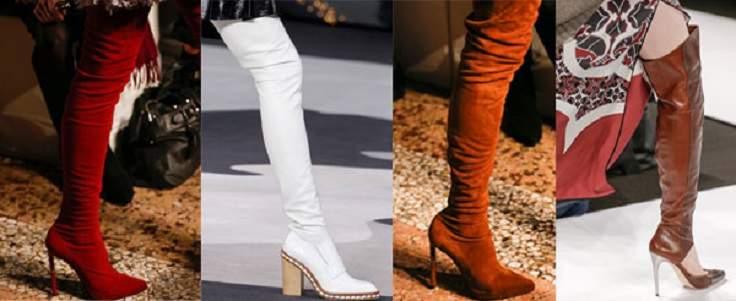 Модные женские сапоги осень-зима.