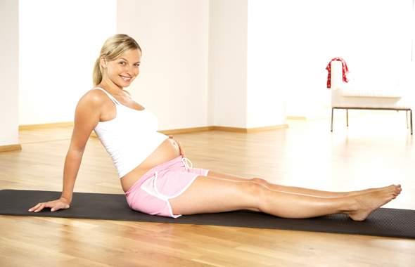 Отдых для ног во время беременности
