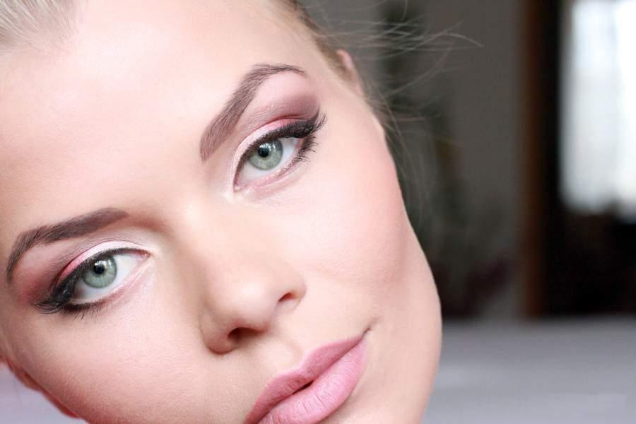 Весенний макияж в постельных тонах