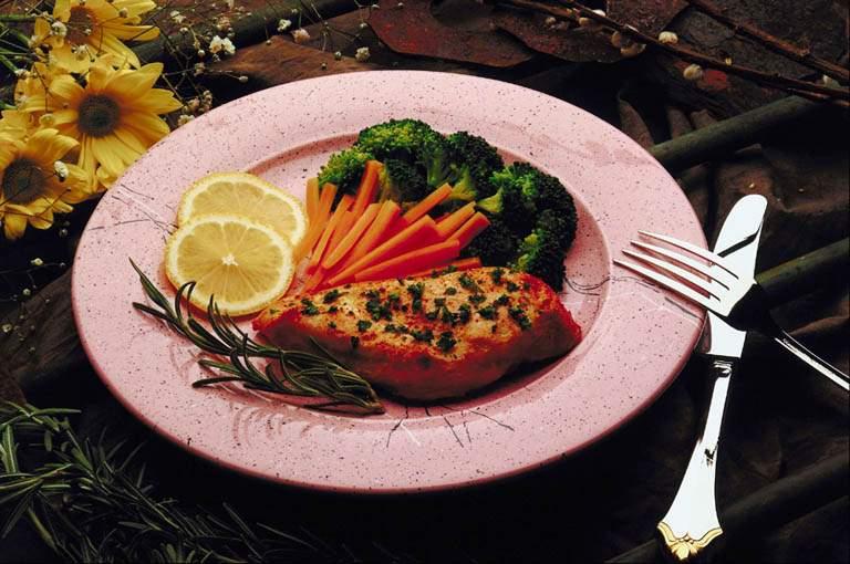 Еда для здоровой кожи, волос и ногтей.