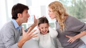Влияние семейных ссор на детей и что делать