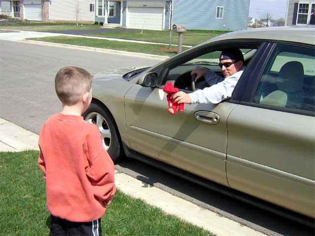 Дети и правила безопасности