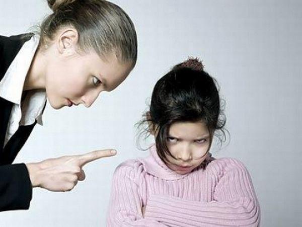 Конфликты с ребенком