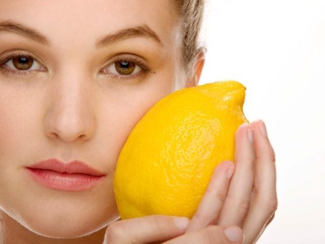 Лимонные маски для ухода за лицом