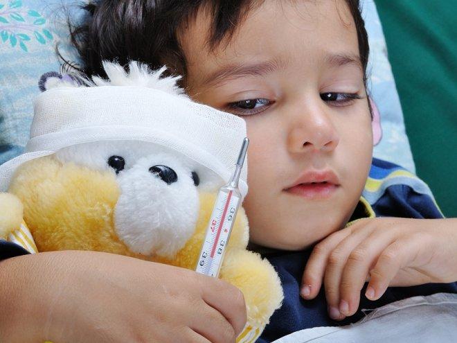 Ребенок приболел на море
