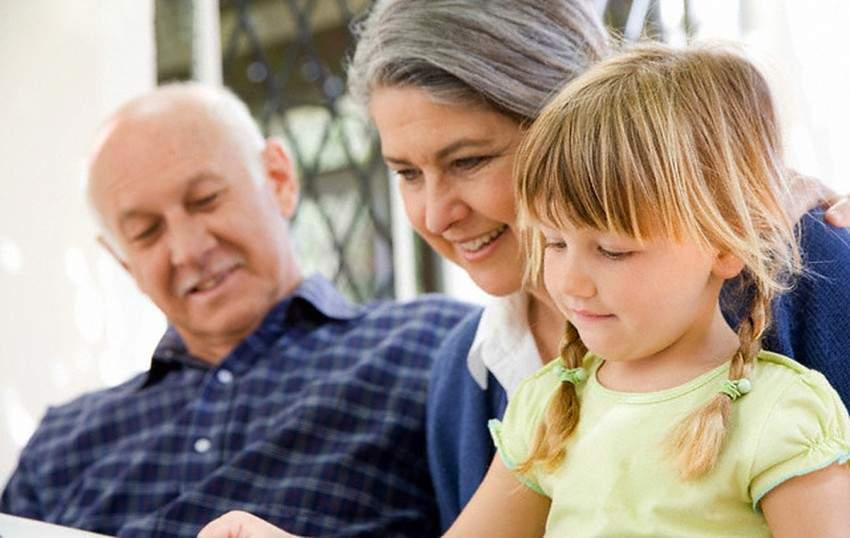 Бабушки и дедушки на расстоянии