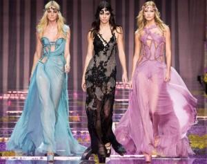 Высокая мода: студия Versace осень 2015